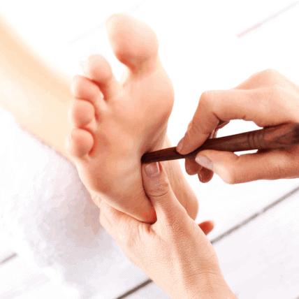 foot reflexology guide