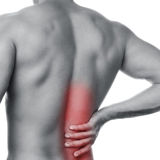 pressure points back pain