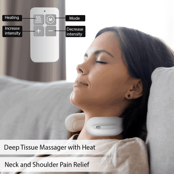 intelligent neck massager soothing heat