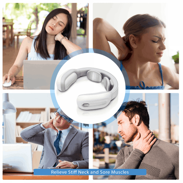 neck massager for stiff neck sore muscle