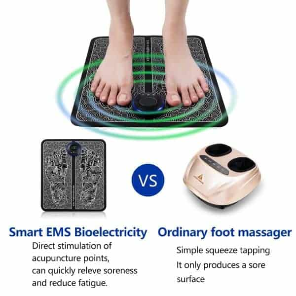 EMS vs Traditional Foot Massager