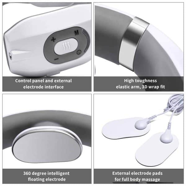 Wireless neck massager details