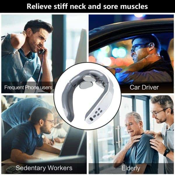 Relieve stiff neck and sore muscles