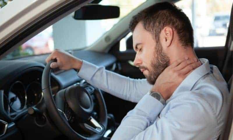 neck pain driver