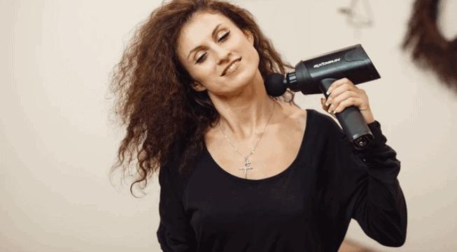 massage gun neck massager