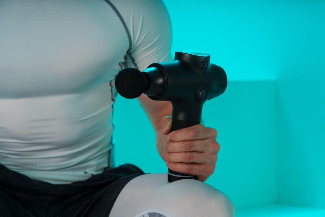massage gun belly